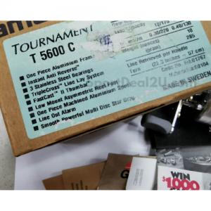 Abu Garcia Ambassadeur Tournament T5600C Fishing Reel