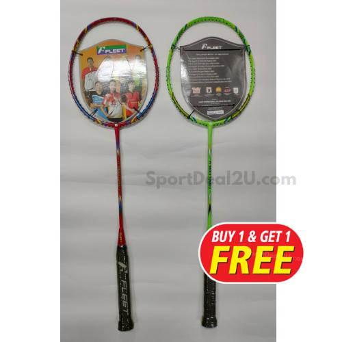 Fleet | FT Shock Turbo (4UG2) Badminton Racquet (BUY1 ...